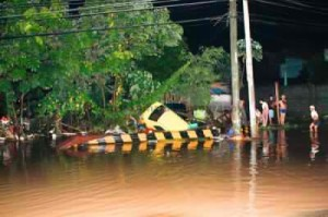 Davao City flash flood