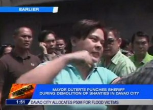 Mayor Sara Duterte Punched Sheriff in Davao