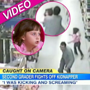 7-year girl old fights off kidnapper