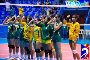 FEU Lady Tamaraws beats Adamson Lady Falcons advances to semi-finals