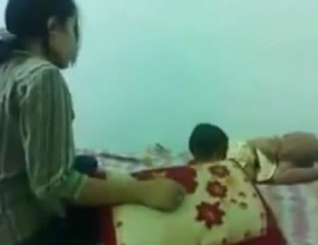 Malaysian Mother Beating Her 8 Month Old Baby Viral Video