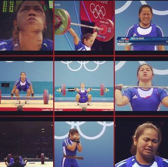 Hidilyn Diaz Weightlifter From Philippines in London