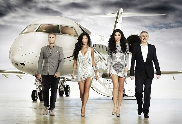 X Factor Promo with Gary, Nicole, Tulisa and Louis Walsh